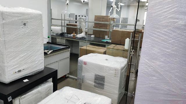 论简阳实验室搬迁