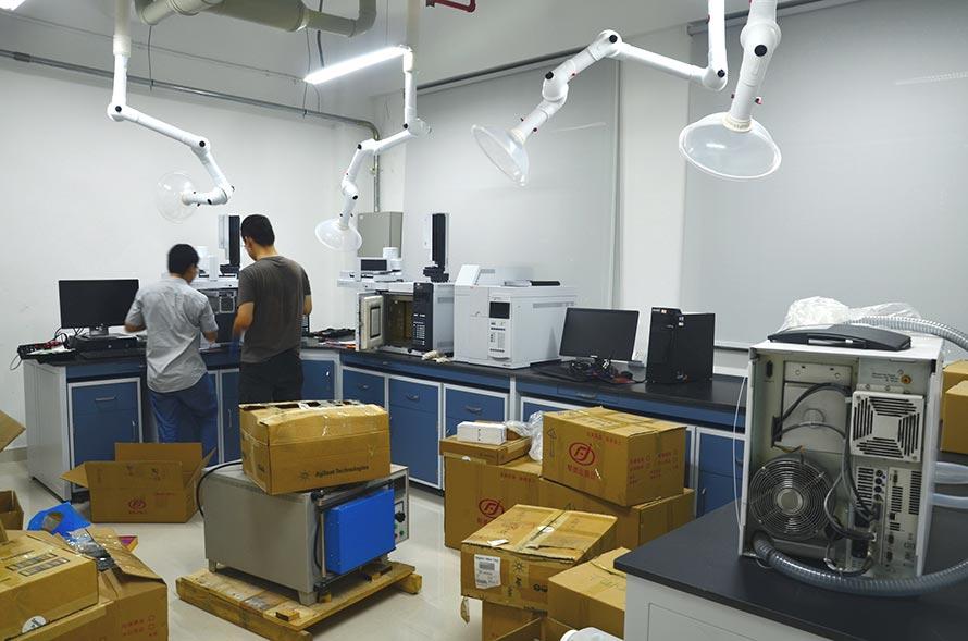 慈溪实验室搬迁