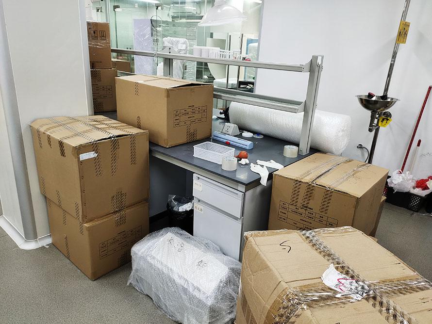 湖北实验室设备搬迁