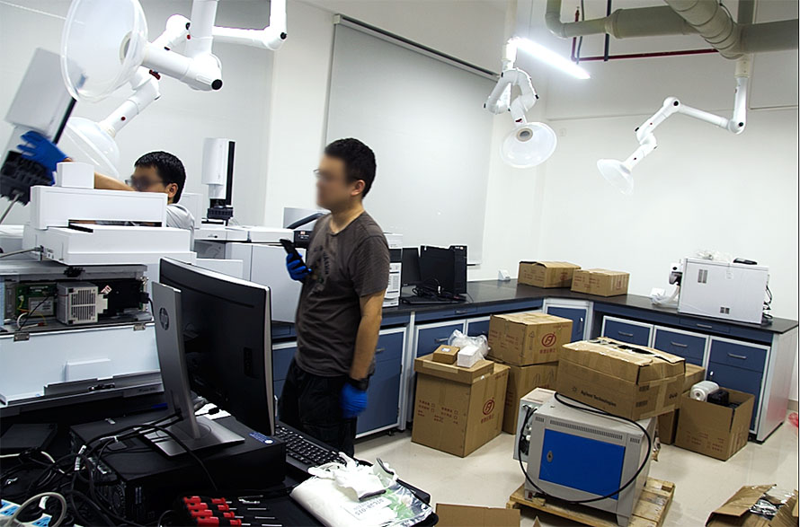 洪江实验室搬迁
