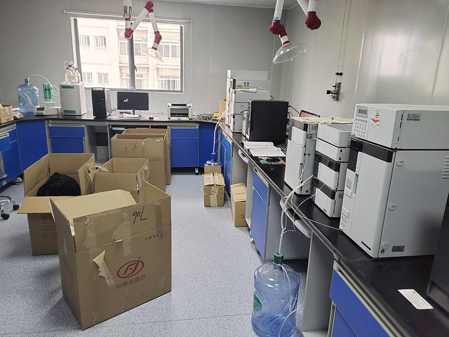 莱西实验室搬迁