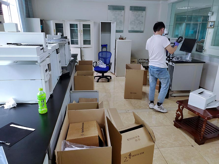 江苏实验室搬迁