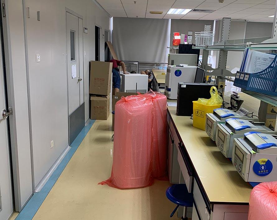瑞安实验室搬迁