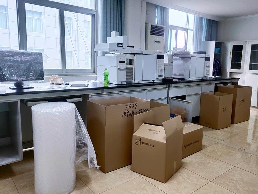 东台实验室搬迁
