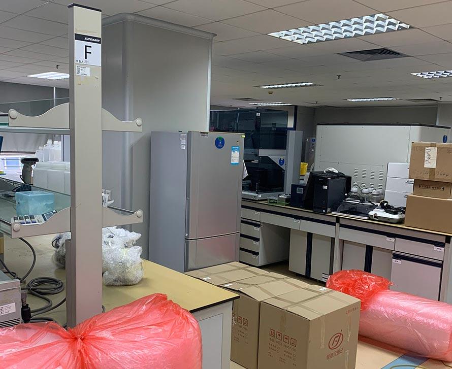磐石实验室设备搬运