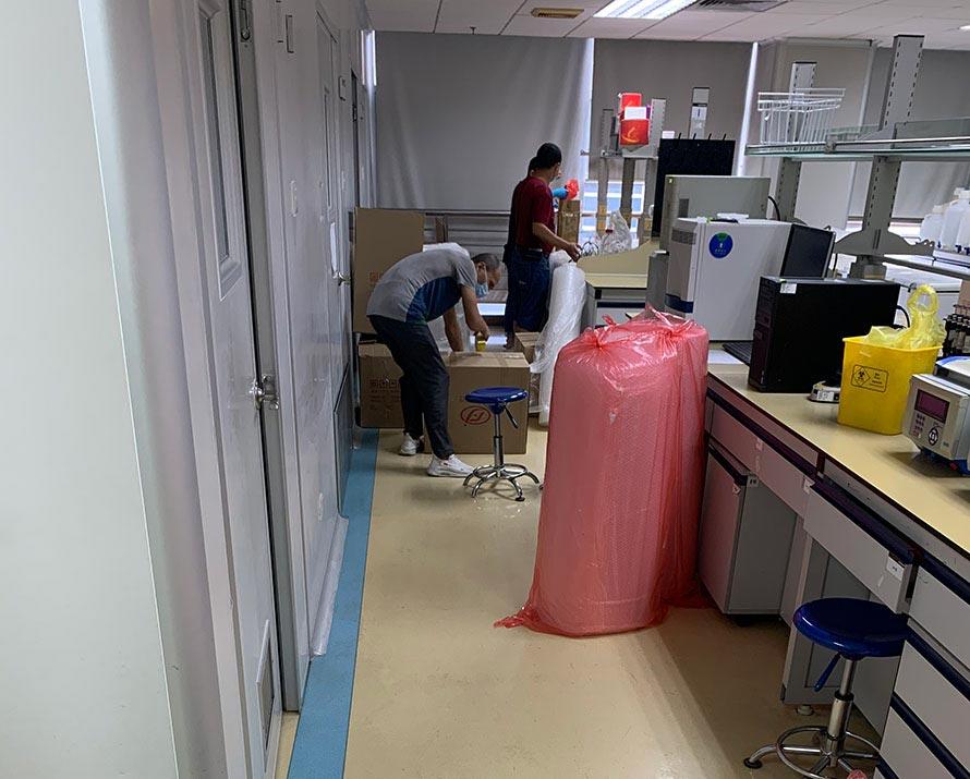 呼伦贝尔市实验室设备搬迁