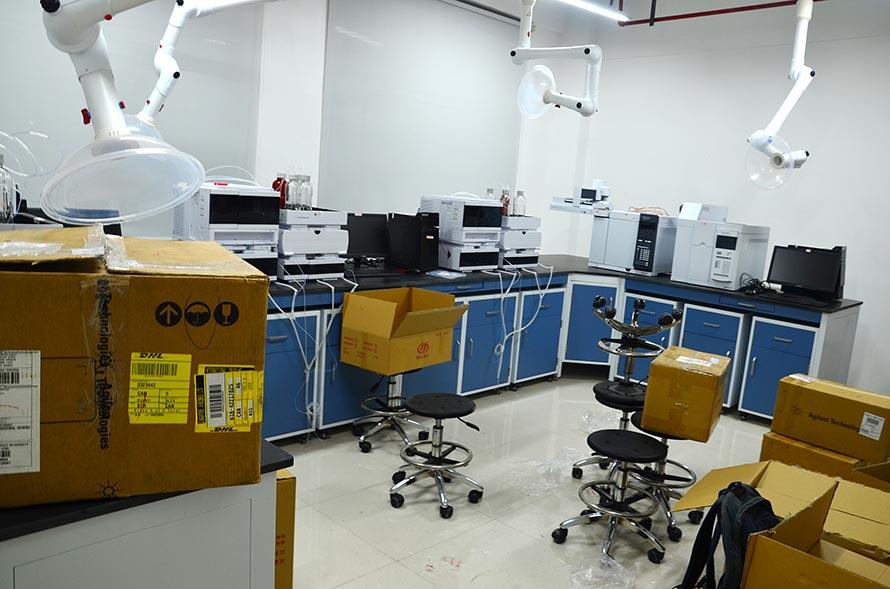 任丘实验室搬迁