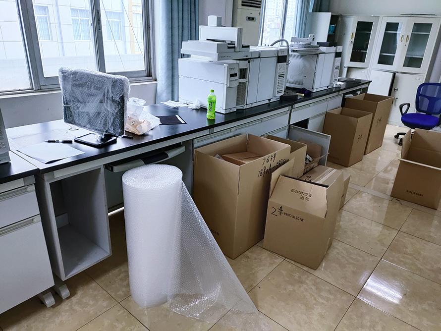 新泰实验室搬迁